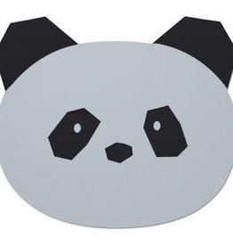 Liewood Placemat panda dumbo grey
