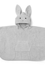 Liewood Badponcho rabbit dumbo grey