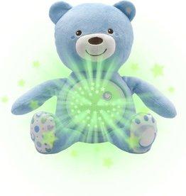 Chicco Projector met beertje blauw