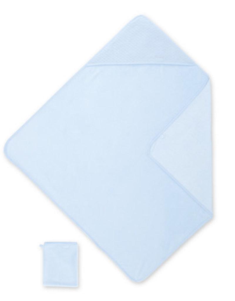 Bemini BADCAPE / 90x90cm / lichtblauw / bamboo - KILTY61BU