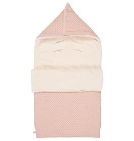 Koeka Voetenzak 0+ 3 punts wafel/teddy Oslo shadow pink/light shadow pink