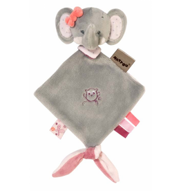Nattou Mini doudou Adele the elephant