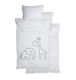 Done by Deer Bedlinen Dreamy dots White Junior 100x140