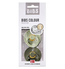 Bibs Set 2 spenen olive/sage