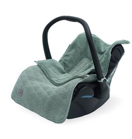 Jollein Comfortbag groep 0+ 3/5 punts River knit ash green