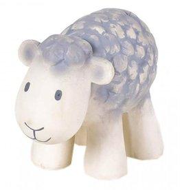 Tikiri Natural Rubber Baby Rattle & Bath Toy - Sheep