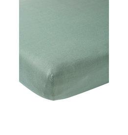 Meyco Jersey Hoeslaken 60x120 Stone green