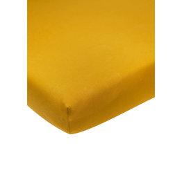 Meyco Jersey Hoeslaken 60x120 Okergeel