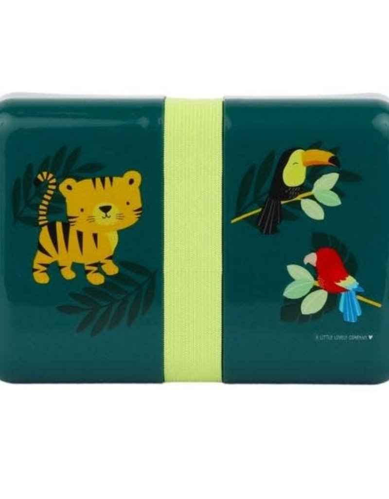 A little lovely company Lunch box: Jungle tijger