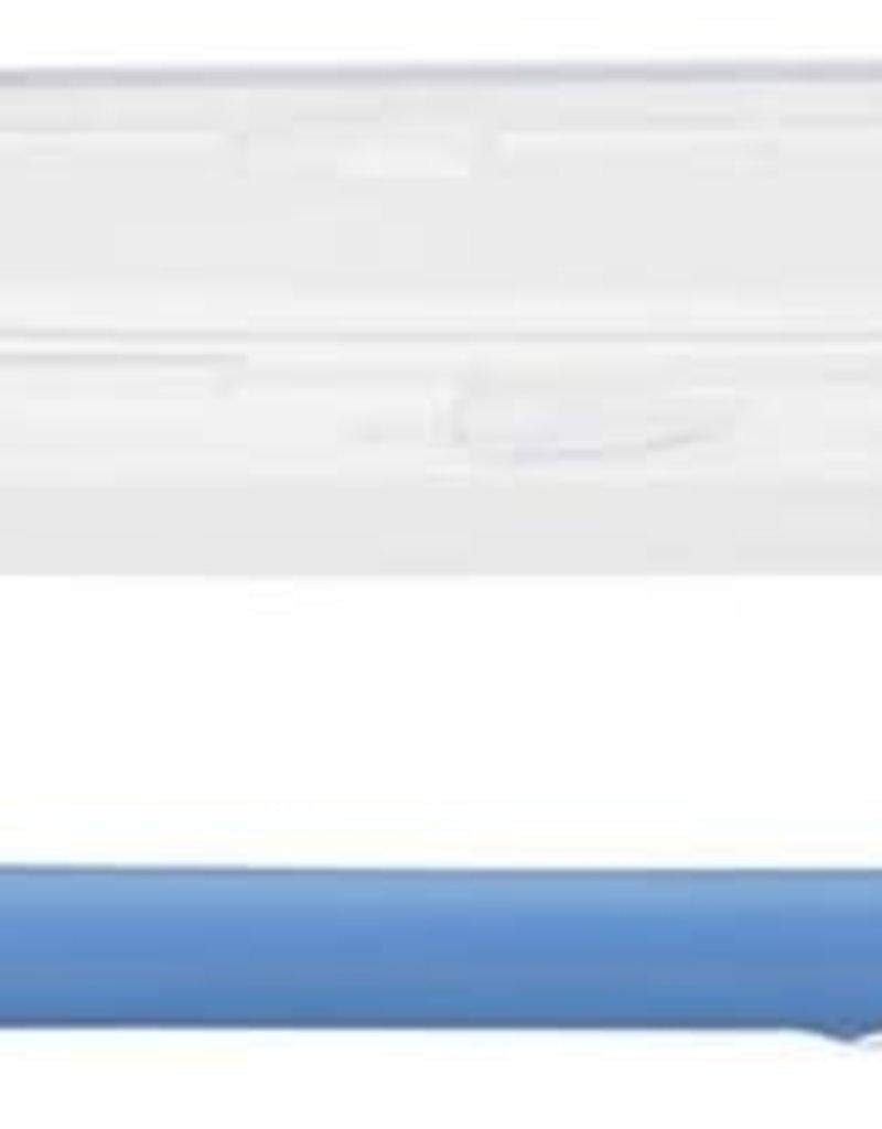 Nuby Lepel van silicone in houdertje blauw