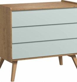Vox VINTAGE Dresser with 3-drawers Green