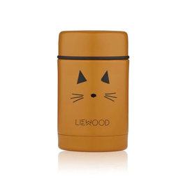Liewood Food jar Cat Mustard