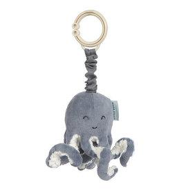 Little Dutch Pull-and-shake Octopus Ocean Blue