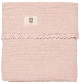 Koeka Wiegdeken Elba Lace dusty pink