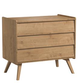Vox VINTAGE Dresser with 3-drawers Oak