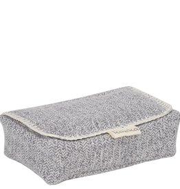 Koeka Koeka - Hoes Voor Babydoekjes Vigo - Sparkle Grey - One size