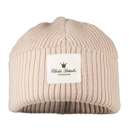Elodie Details Wool Cap Powder Pink 6-12m