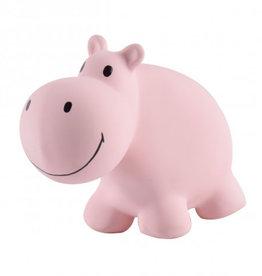 Tikiri Natural Rubber Baby Rattle & Bath Toy - Hippo