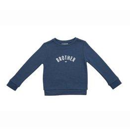 Bob & Blossom Sweater 1 jaar blauw 'Brother'