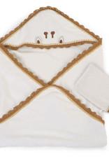 Childhome Badcape & washandje clot jersey crochet