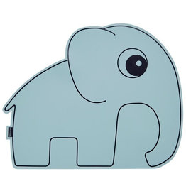 Done by Deer Placemat anti slip elephant blue