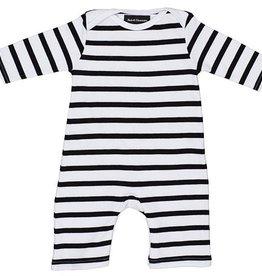 Bonjour Little Kruippakje black and white stripped