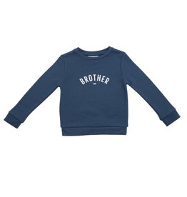 Bob & Blossom Denim blue brother sweatshirt