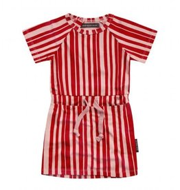 Your wishes Shirtdress pink stripes