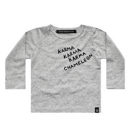 Your wishes Karma chameleon tshirt (KORTE MAUWEN)