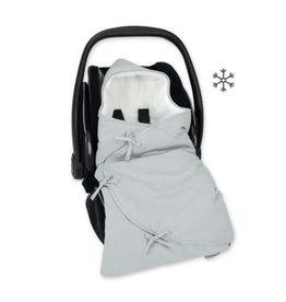 Bemini Mini nest 0-4m mediumgrijs -pady tetra jersey