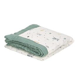 Lassig Heavenly soft Blanket Garden Explorer boys 100 x 100 cm