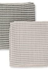 Konges Sløjd 2 pack muslin cloth striped boys