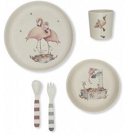 Flamingo Dinner Set