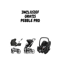 Mutsy Nio alu/grey Explore Shade (incl. gratis Pebble Pro Ess. Black)