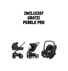 Mutsy Nio black/grey Explore Shade (incl. gratis Pebble Pro Ess. Black)