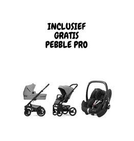 Mutsy Nio black/grey Journey Ice grey (incl. gratis Pebble Pro Ess. Black)
