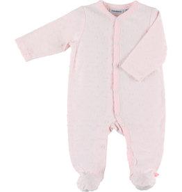 Noukies Pyjama babyrose met bolletjes