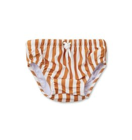 Liewood Frej baby boy swim pants Mustard/white 56/62