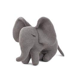 Liewood Dextor knit teddy elephant grey melange