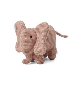 Liewood Dextor knit teddy elephant rose