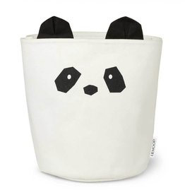 Liewood Fabric basket panda creme de la creme