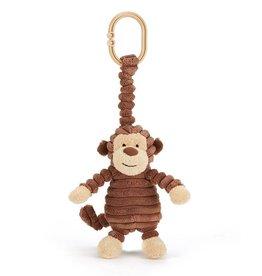 JellyCat Baby cordy roy monkey jitter