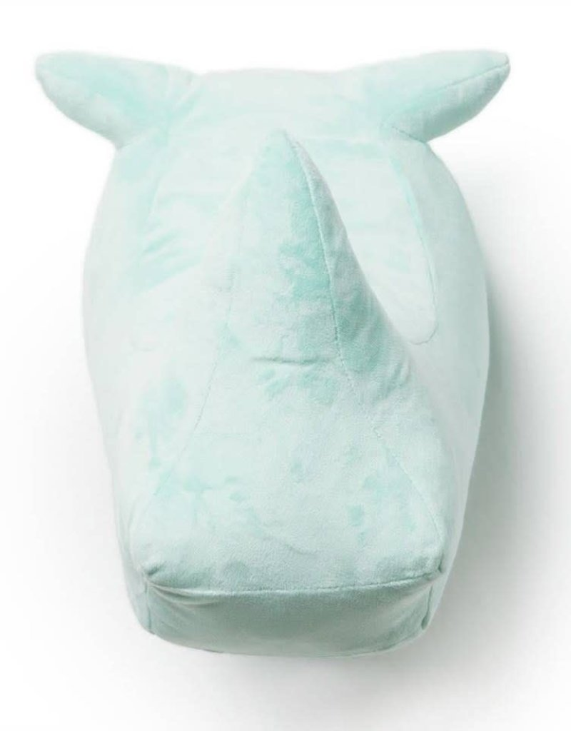 Wild & soft Abstracte neushoorn fueel groen carlos
