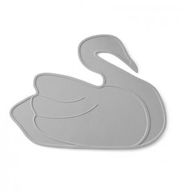 Lille Vilde Placemat Swan Grey