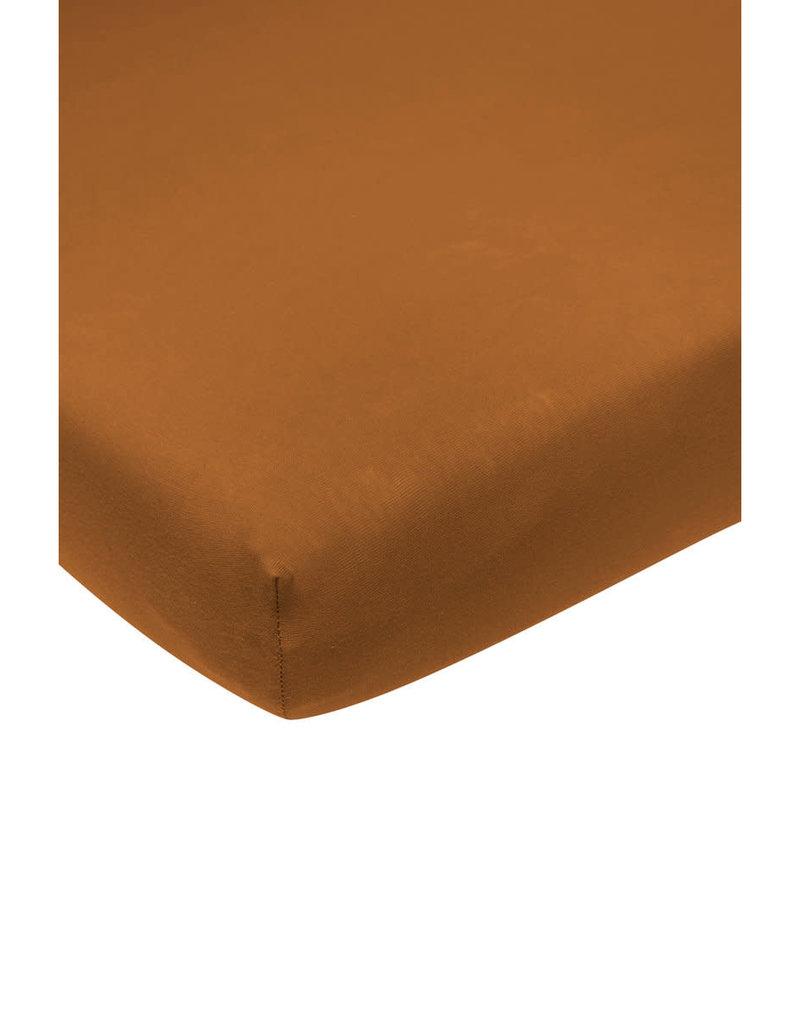 Meyco Drap housse camel 60x120