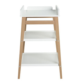 Quax LUIERTAFEL HIP - WHITE/NATUREL