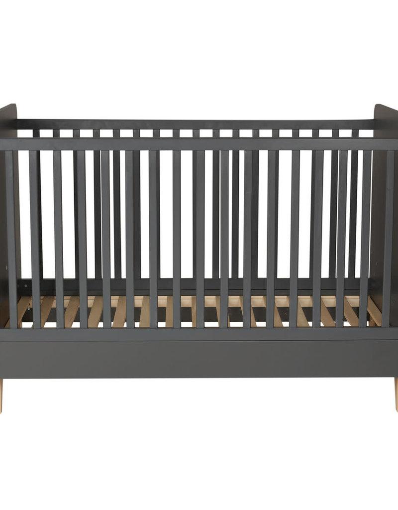 Quax LOFT OMVORMBAAR BED 140*70 CM - ANTRACITE