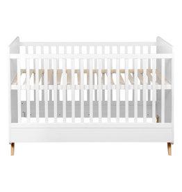 Quax LOFT OMVORMBAAR BED 140*70 CM - WHITE