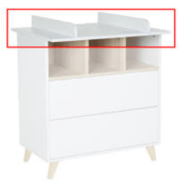 Quax LOFT EXTENSIE COMMODE - WHITE