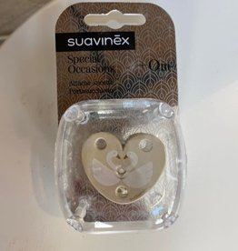 Suavinex Tutketting in hart met zwanen